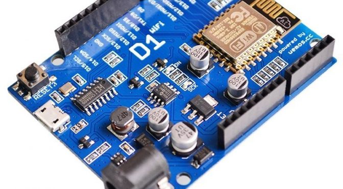 WeMos D1 R3 Wifi Arduino Uno Compatible – Driver Installation and IDE