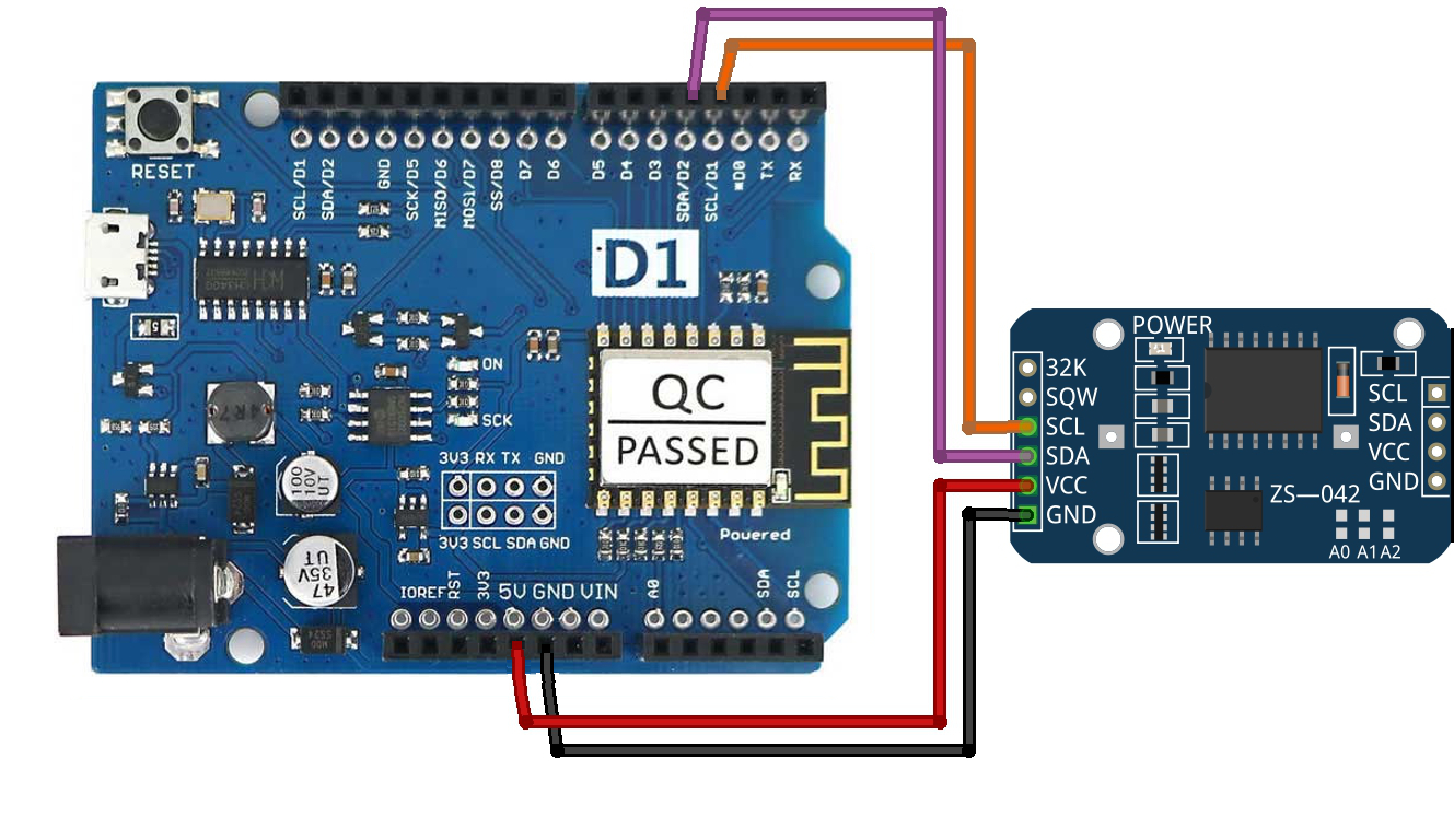 How to use lcd with i c on arduino and wemos